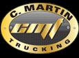 C Martin Trucking Logo