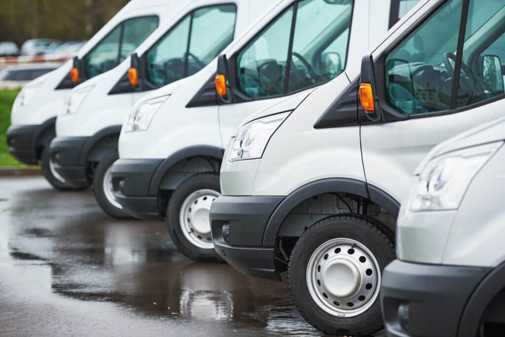 White Cargo Vans