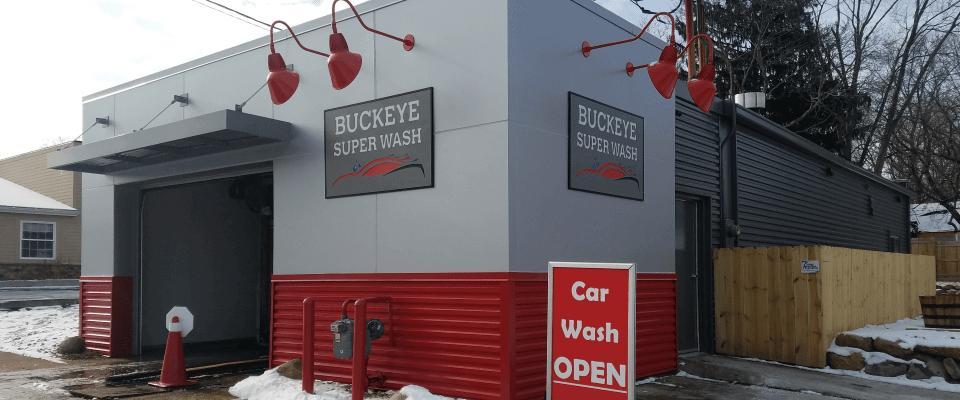 Exterior of Buckeye Super Wash
