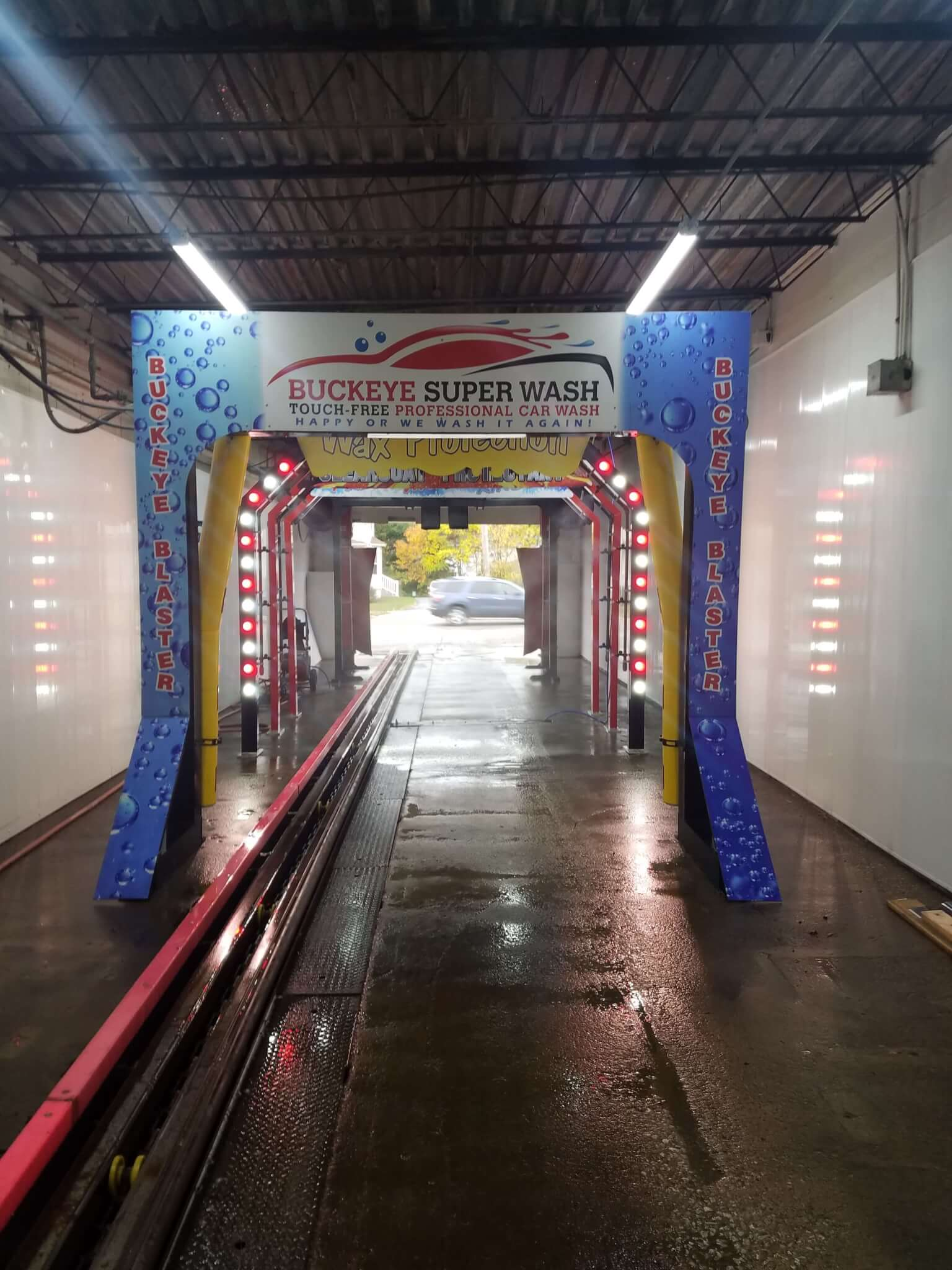 Buckeye Super Wash Medina S Only Touch Free Amp Towel Dry