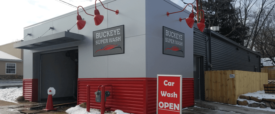 Exterior of Buckeye Super Wash