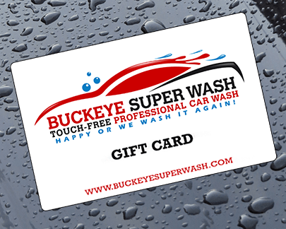 Gift Certificates From Buckeye Super Wash
